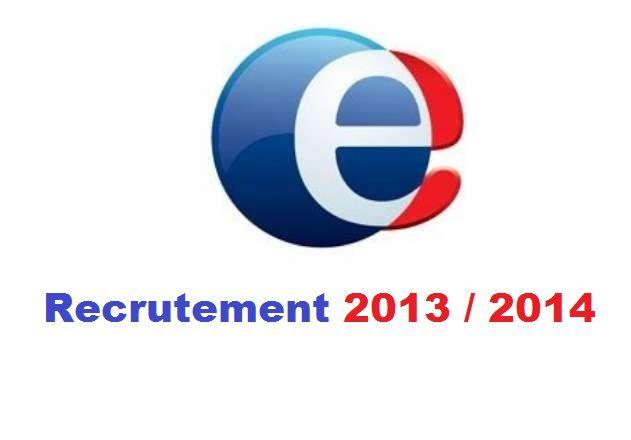 recrutement pole emploi (2000 postes 2013/2014)