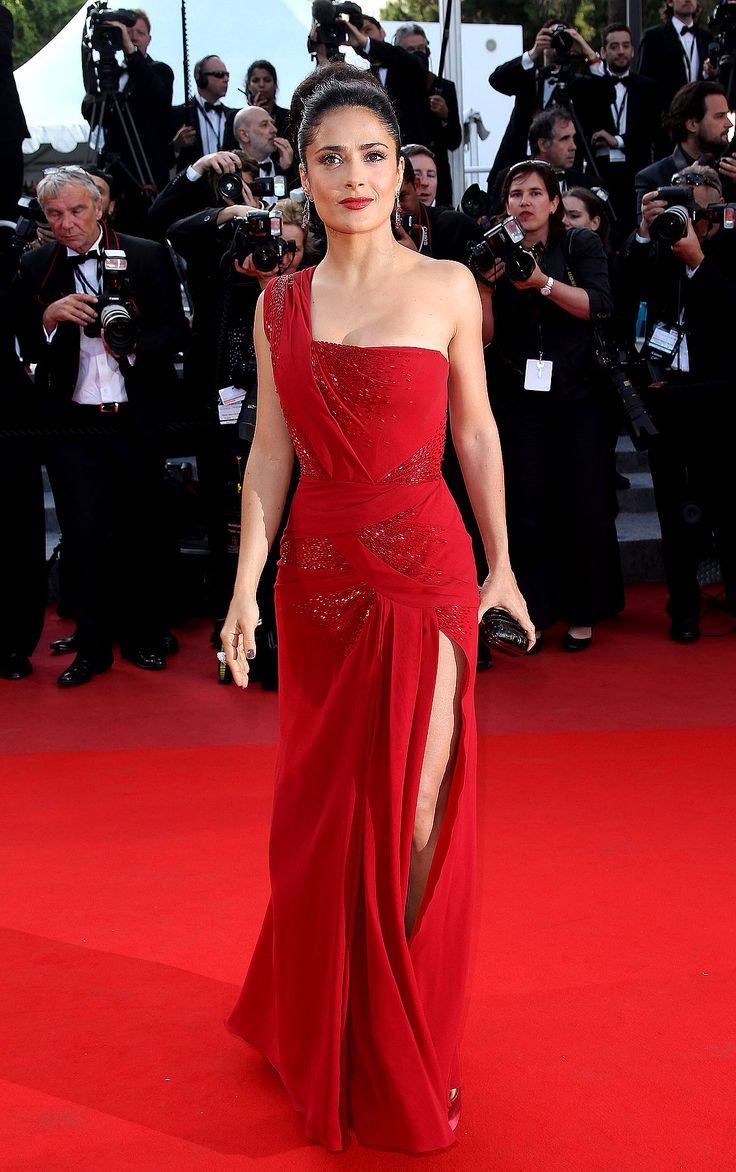 Salma Hayek on the Red Carpet                                                                                                                                                                                 More