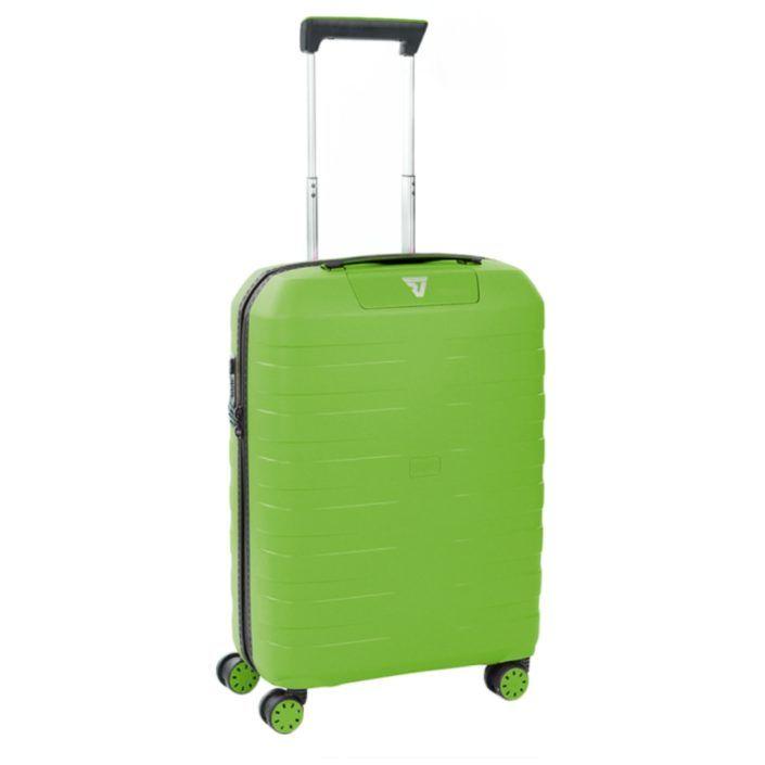 RONCATO BOX 2.0 Trolley Cabina 55 CM 4 RUOTE Verde