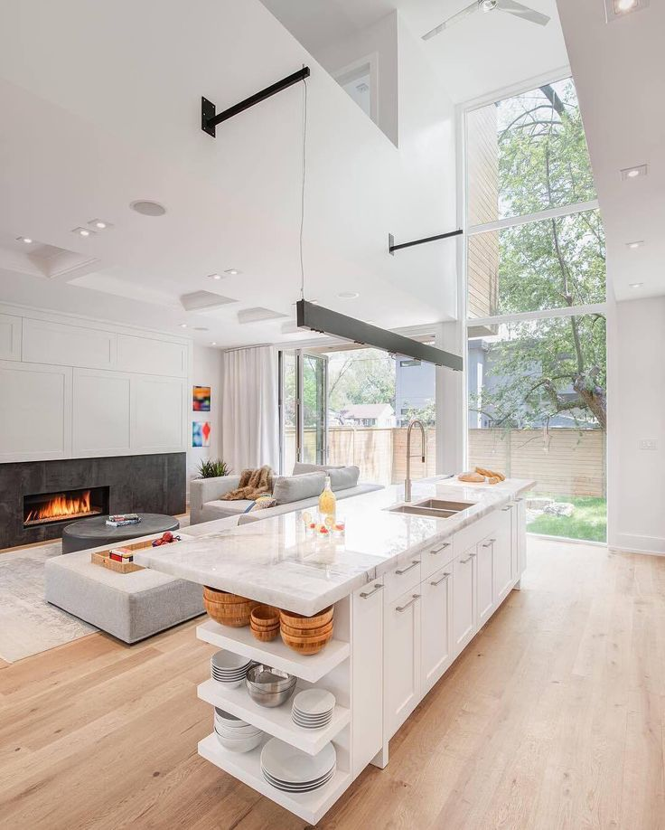 We Love Looking Through The DMmodernhomes Hashtag If You Live In A Modernhome Open KitchensArchitecture Interior DesignContemporary