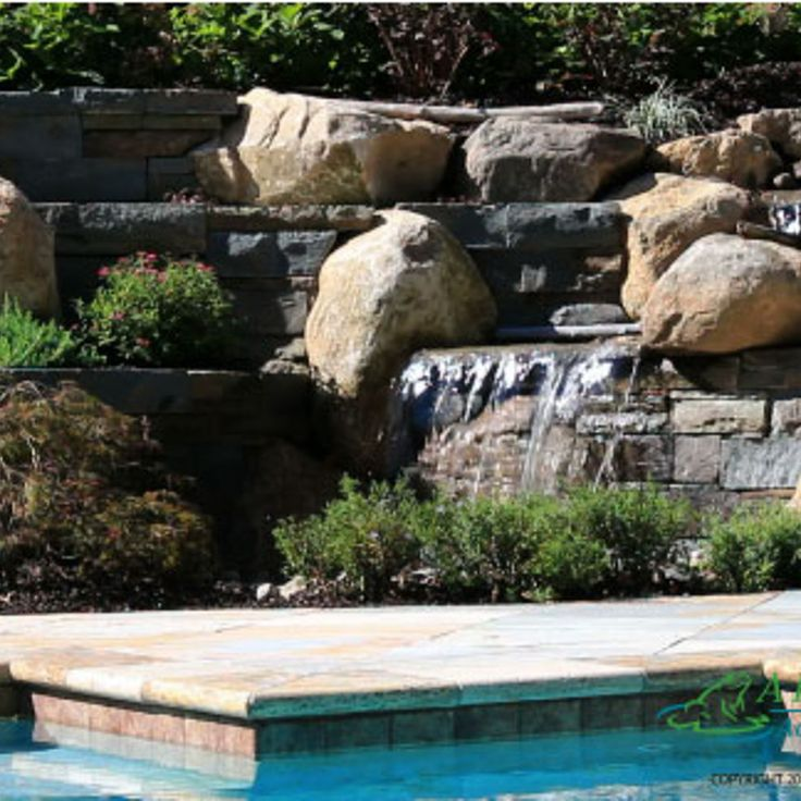 Pondless Waterfalls Ideas