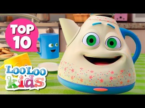 If You're Happy and You Know It - Great Songs for Children | LooLoo Kids - YouTube