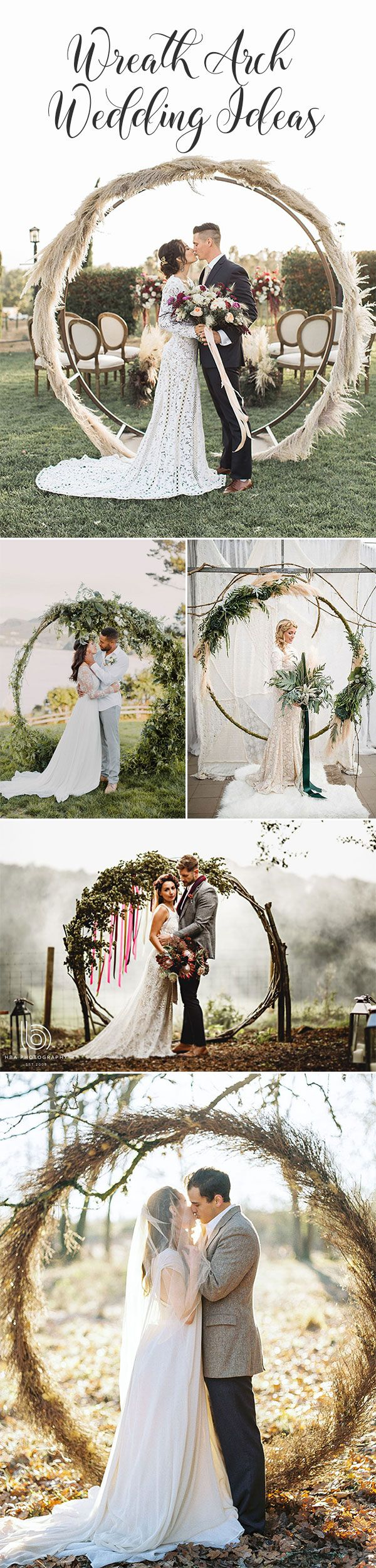 Trendy-wreath-wedding-ceremony-arch-decoration-ideas-for-2018