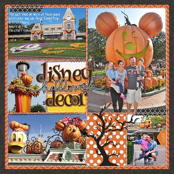 Disney Halloween Decor (L)