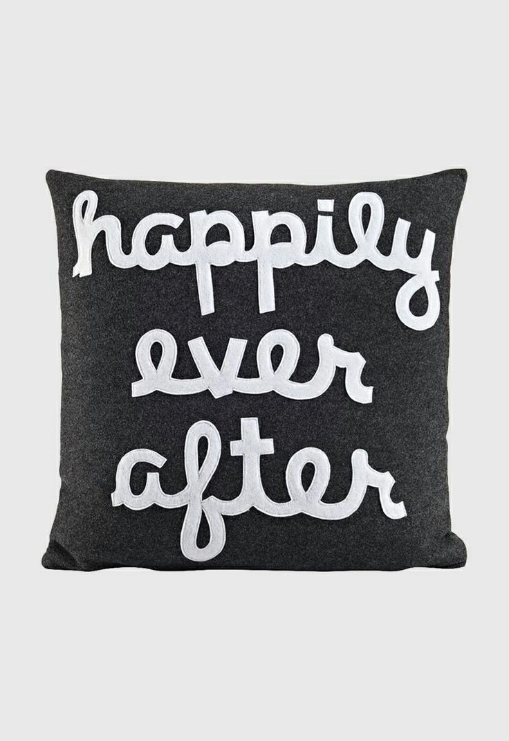 best pillows images on pinterest  cushions decorative  - happily ever after pillow