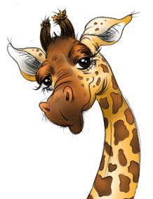 1000 images about giraffe reference on pinterest - Cartone animato giraffe immagini ...