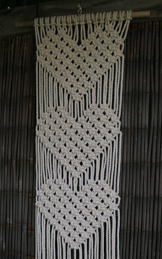 Queen of Hearts Macrame Wall Hanging pdf instructions