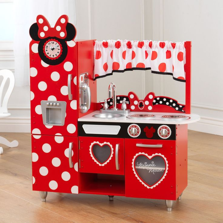 KidKraft Disney Jr. Minnie Mouse Vintage Kitchen - 53371