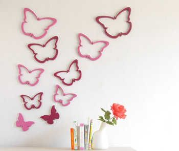 105 best images about decoraciones divertidas on pinterest - Decoracion con mariposas ...