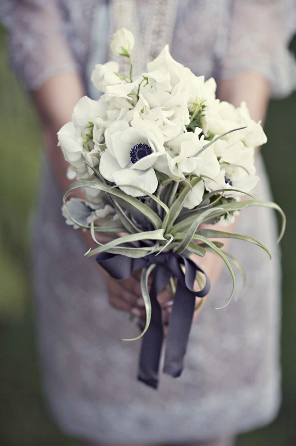 bouquets white bouquets small bridal bouquets anemone wedding small