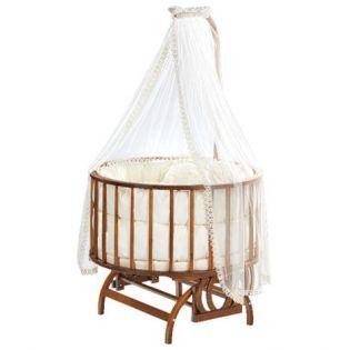 Baby Tech 151 Topkapı Ahşap Bebek Beşiği Ceviz