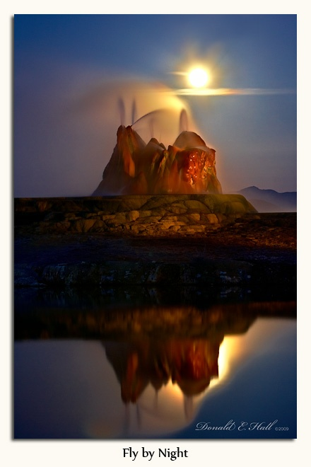 Fly Geyser, Nevada ~ How come I've never heard of this before?