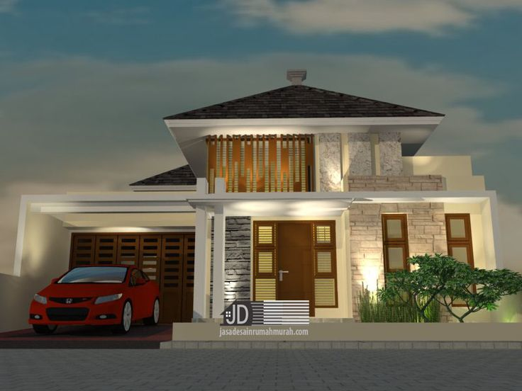 Jasa Desain Rumah Mewah Harga Murah, Karya Desain Jasa Arsitek Online melayani pemesanan desain seluruh Indonesia (telp, email, wa) jasa desain rumah modern