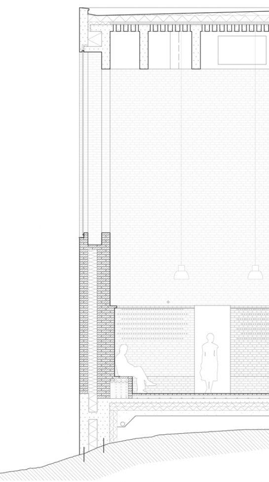 load bearing wall - Johan Celsing Arkitektkontor