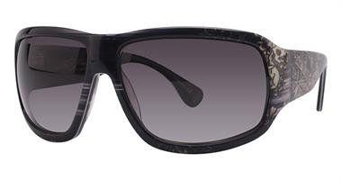Ed Hardy EHS Rock Sunglasses Grey Horn
