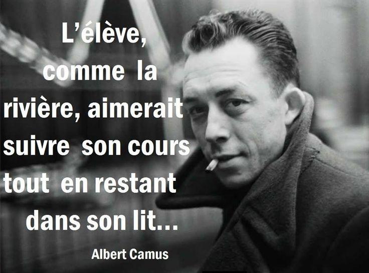 Cher Albert Camus... Claire Lewis
