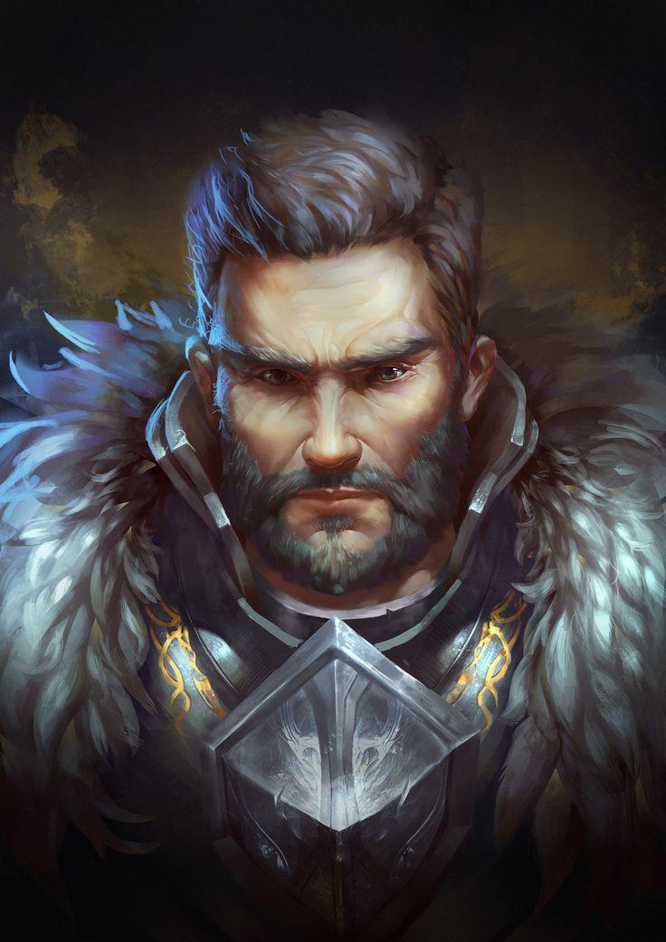 ArtStation  Commander zhongyang han  Digital Painting Portrait  Character art Character