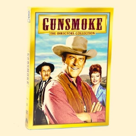 Gunsmoke- Directors Collection   An impressive roster of Hollywood talent brings a keen eye to the camera lens in this Gunsmoke DVD Collection that spotlights the series' acclaimed directors. If your father loves the Wild West, this would be the perfect gift for him! $19.99