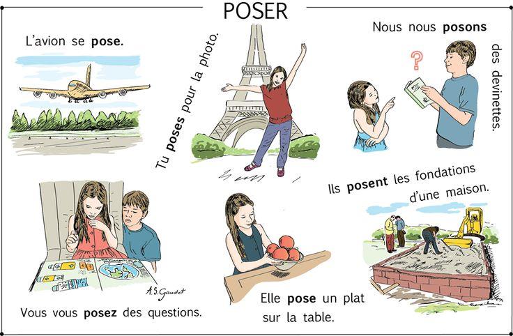 ...le verb Poser