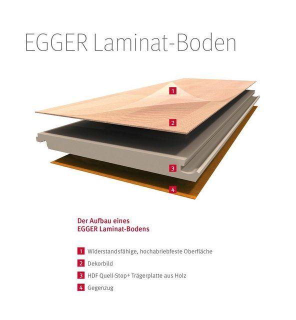 Laminat »HOME Nidaros Eiche schwarz«, 2,481 m²/Pkt., Stärke: 7 mm