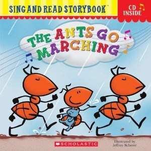 The Ants Go Marching book and song  Good for exercise, counting, singing, rhyming