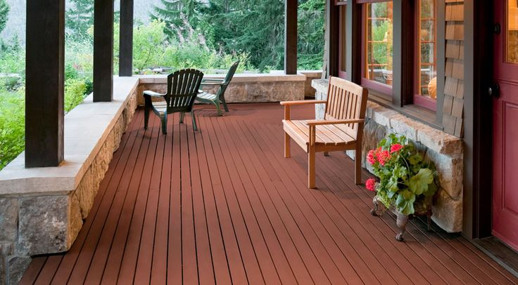 Choose posite decking that brings the beauty of wood to