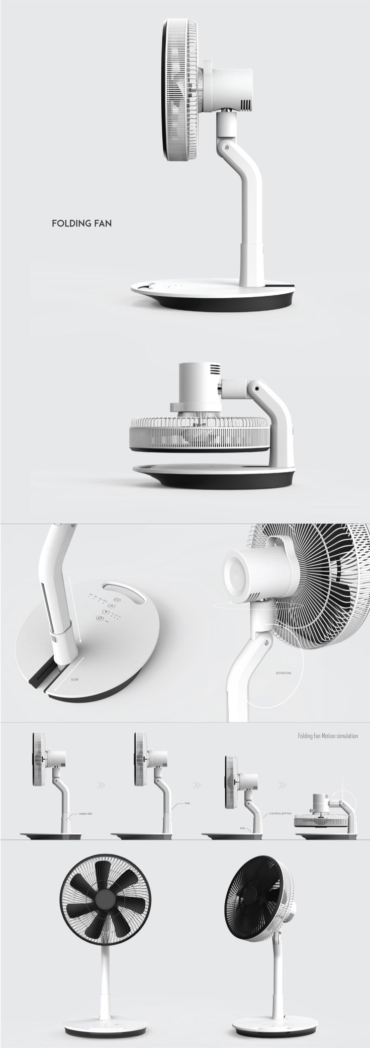 Folding Fan on Behance