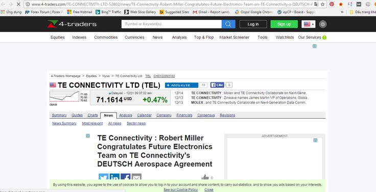 http://www.4-traders.com/TE-CONNECTIVITY-LTD-52802/news/TE-Connectivity-Robert-Miller-Congratulates-Future-Electronics-Team-on-TE-Connectivity-s-DEUTSCH-A-22925512/