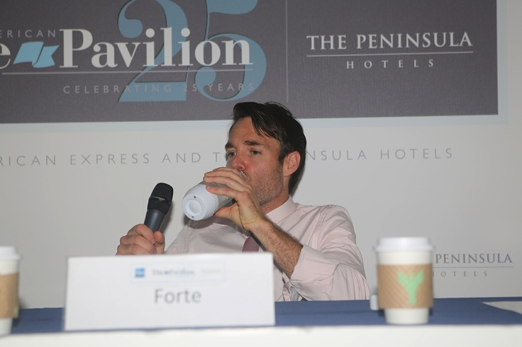 We caught Will Forte enjoying a refreshing glass of SodaStream at Cannes. Does this mean we might see a SodaStream episode on SNL?