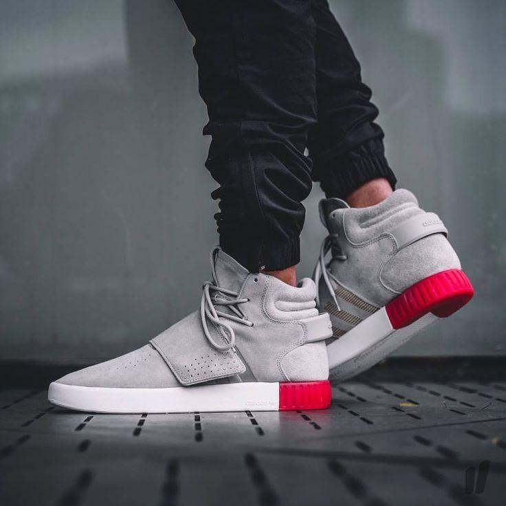 Podobny Obraz Adidas Tubular Invader Strap Sneakers Men Fashion Ankle Shoes
