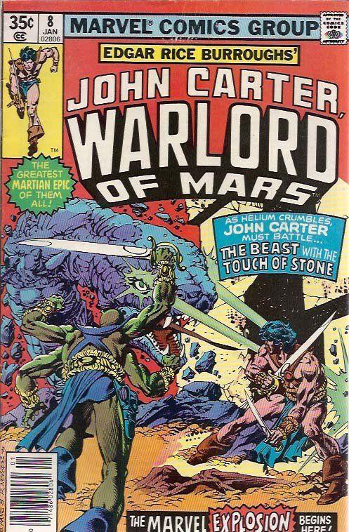 John Carter Warlord of Mars 8    Boeken / Comics, Comics, John Carter, John Carter Warlord of Mars (1977) www.detoyboys.nl