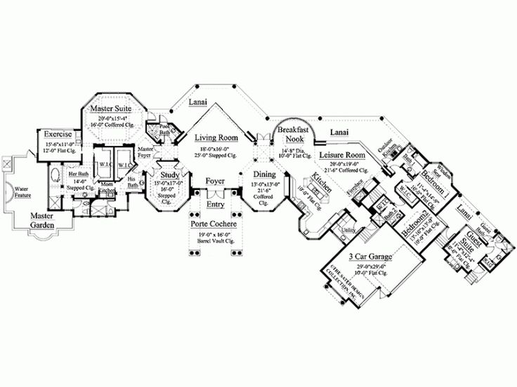 26 best images about interesting floor plans on pinterest for Eplans mediterranean house plans