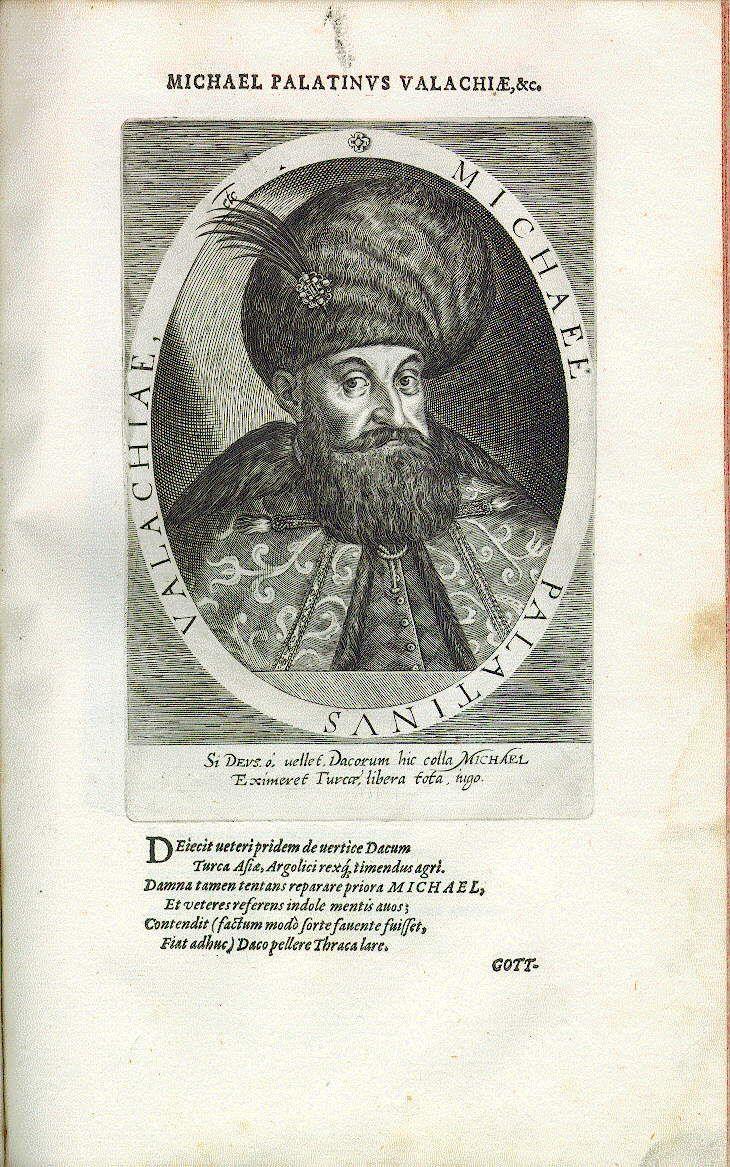 Michael II. der Tapfere, Fürst der Walachei, Statthalter von Siebenbürgen (reg. 1593-1601)