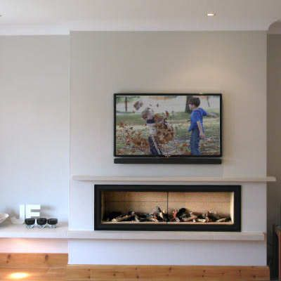 false chimney breast electric fire - Google Search