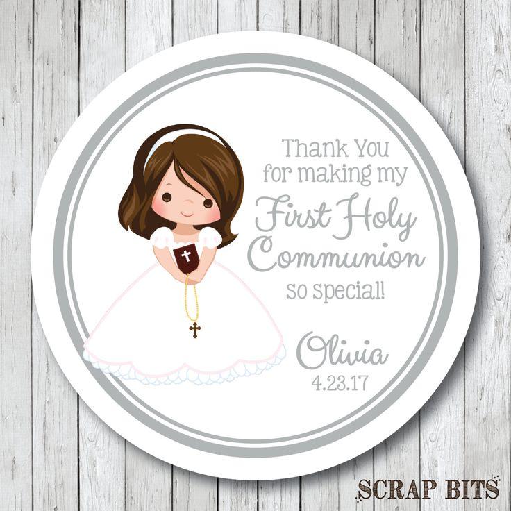 Primera comunión de pegatinas. Personalizadas primera comunión