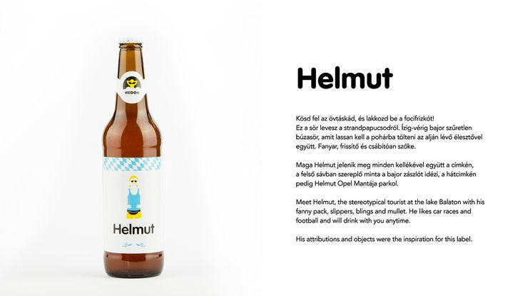 Hedon Craft Brewery Identity - Art Direction on Behance Bavarian wheat beer identity design by Flying Objects design studio