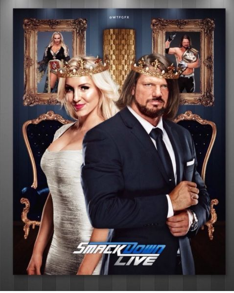 The phenomenal 1 Aj Styles, the wwe champion with the Queen Charlotte Flair, the Smackdown woman's champion! Smackdown Live is the house that Aj Styles built and now he shares it with Charlotte! Awww The wwe universe know and can feel that there's something between them... just waiting them for admit it! I totally ship it! #sdlive #p1 #ajstyles #phenomenalone #phenomenal #phenomenal1 #charlotte #charlotteflair #queen #doitwithflair #woo