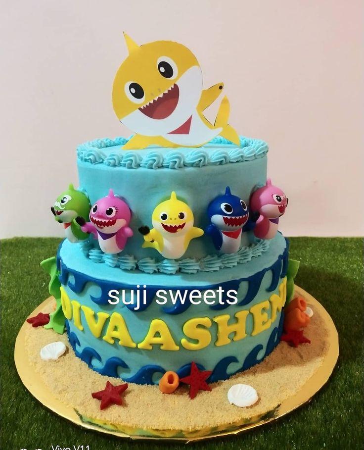 """Suji Sweets Door Gift on Instagram: """"Baby shark theme ..."""