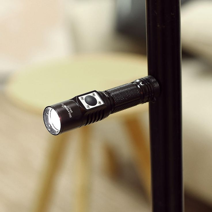 BlitzWolf® BW-ET1 XP-L V6 600LM Stepless Dimming Mini EDC LED Flashlight 14500/AA Sale - Banggood.com