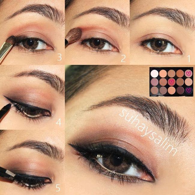 $9.56 15 Colors Matt Eye Shadow Concealer Brow Powder makeup palette - BornPrettyStore.com