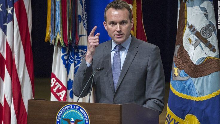 """Eric Fanning delivers remarks during the 2013 Lesbian Gay Bisexual Transgender Pride Month Ceremony at the Pentagon Auditorium on June 25, 2013 in Washington.""  Obama has not shame.  http://www.fightnow.org"