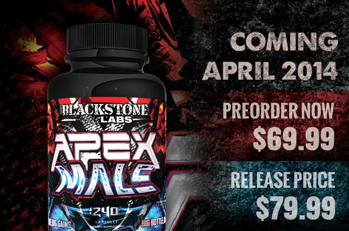Coming Soon!!! Apex Male From Blackstone Labs