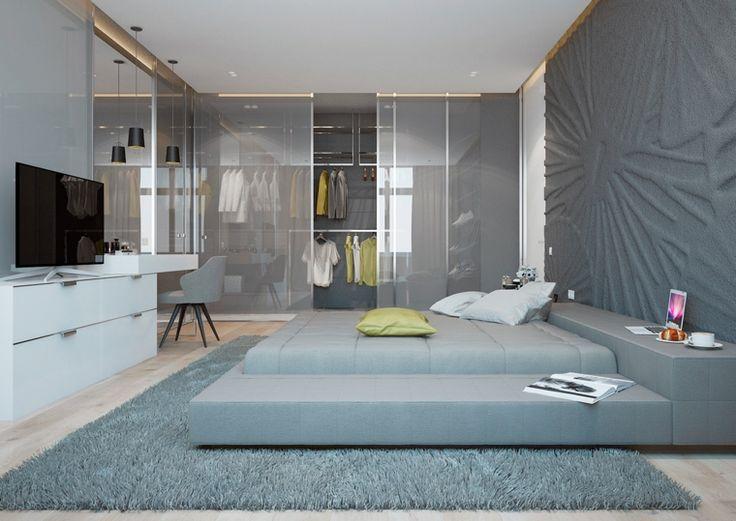 Mejores 75 imágenes de Habitación moderna en Pinterest | Diseño de ...