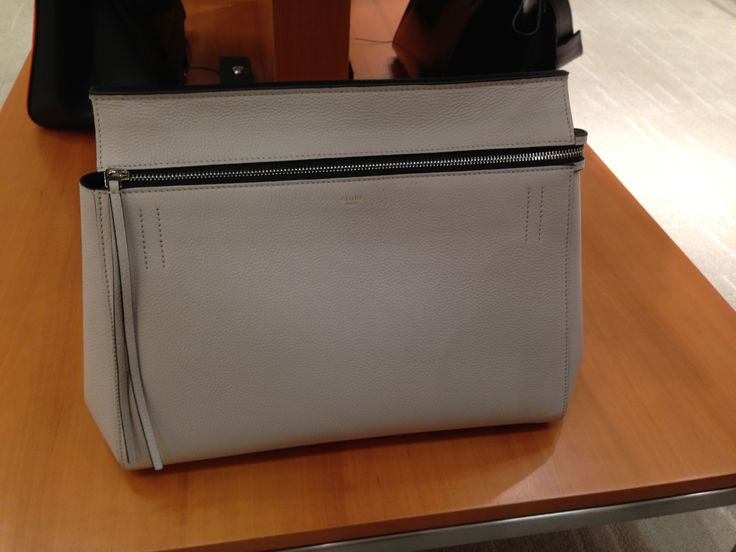 Celine edge bag in cloud | Handbag Obsessions | Pinterest | Celine ...