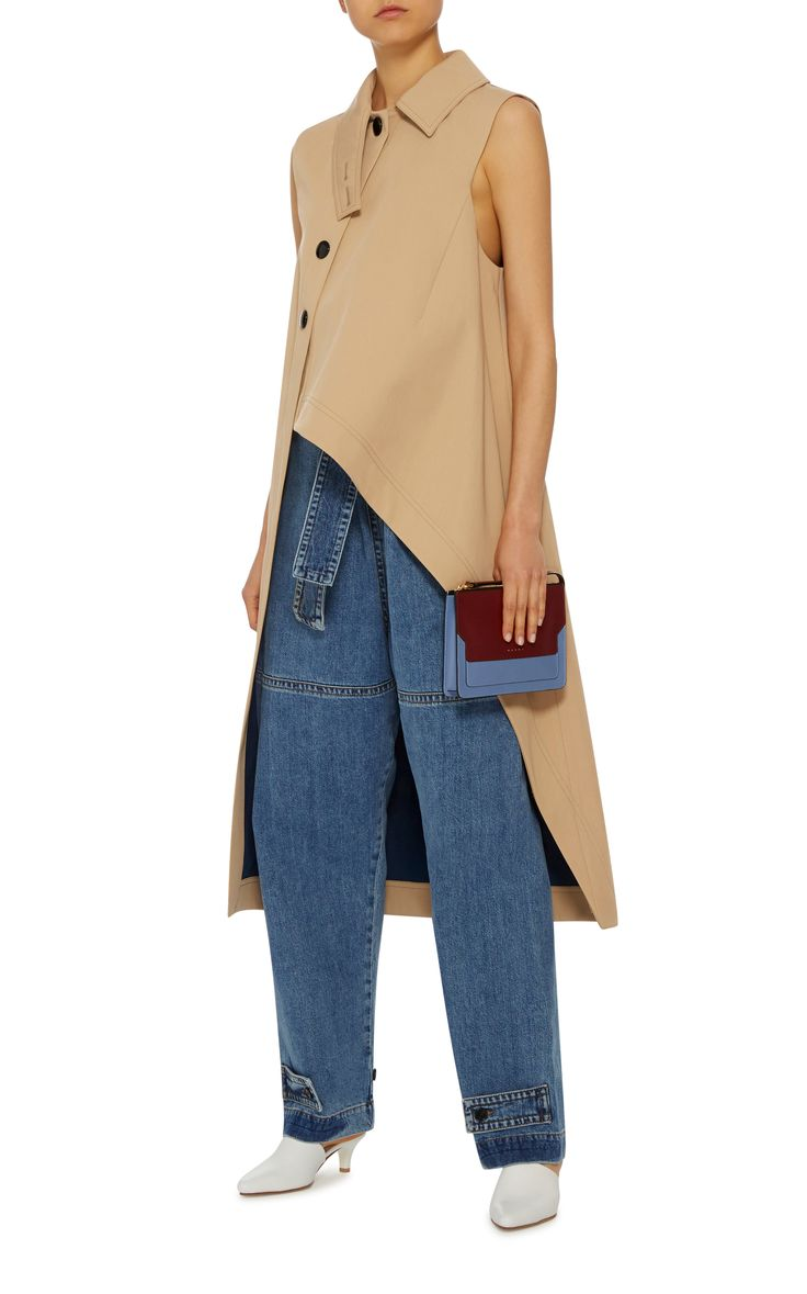 Wide Leg Trousers by MARNI Now Available on Moda Operandi