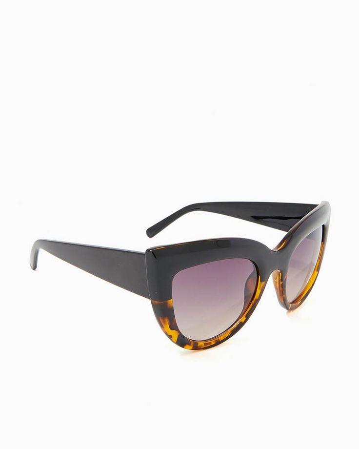 charming charlie | Two-Tone Cateye Sunglasses | UPC: 400000166599 #charmingcharlie