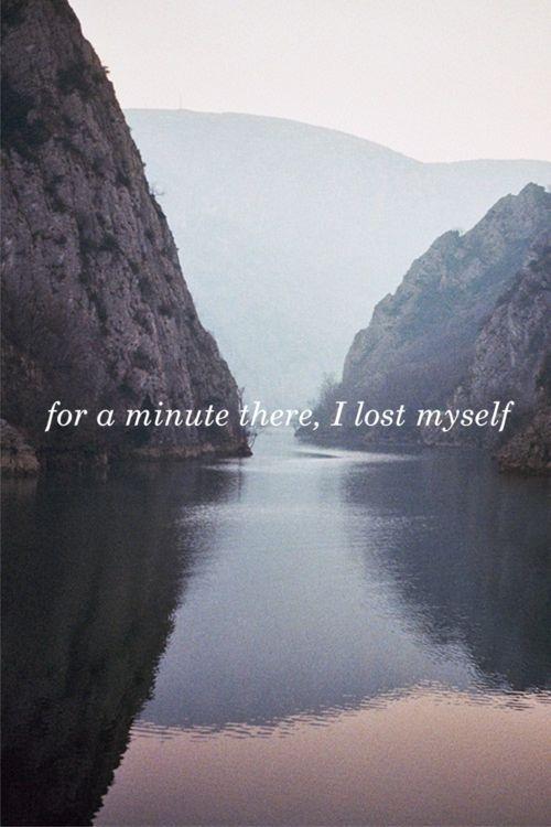 Für eine Reise dorthin habe ich mich selbst verloren.