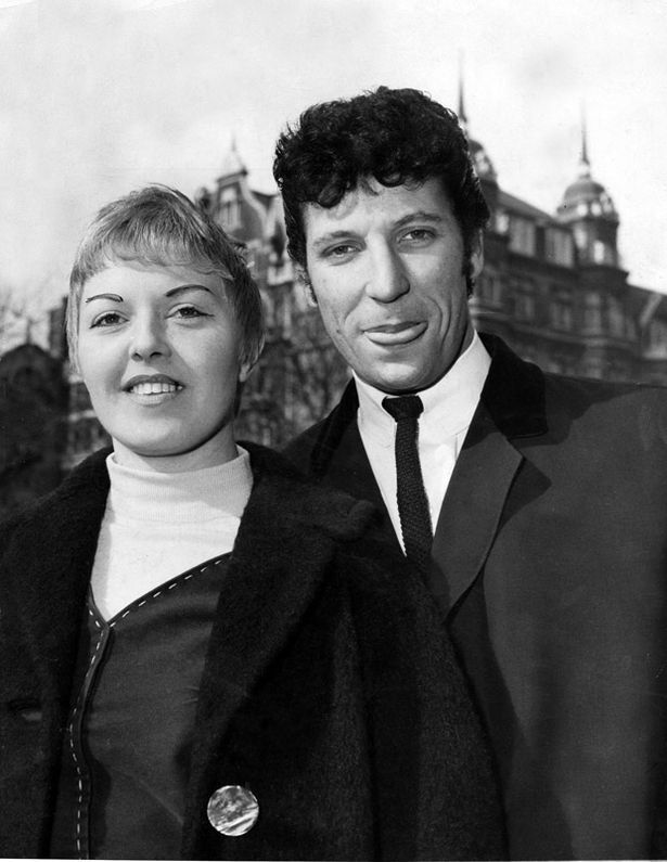 If you were born in 1957, that year singer Tom Jones married Melinda Trenchard -- they are still married today - here they are in 1965.