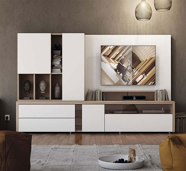 Source Lansenluna Furniture Luxury Design Wood Tv Cabinets Wall Units Living Room Modern Furniture On M In 2020 Wall Storage Systems Living Room Tv Living Room Tv Wall #wall #storage #for #living #room