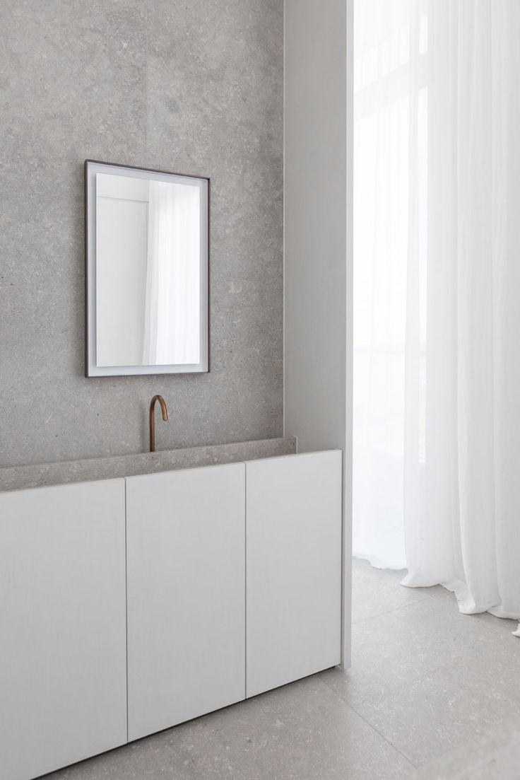Interior * Minimalism by LEUCHTEND GRAU Hans Verstuyft Architecten: Penthouse Westkaai